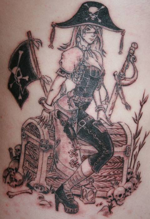 Pirate tatoo