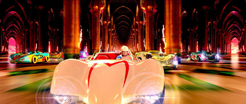 Speed Racer no Mach 5