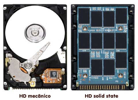 Solid State HD x HD convencional